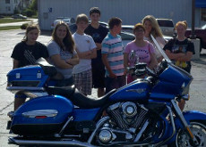 Class #2011BLDS7-5 learned about sharing the road with motorcycles today. Remember to give a 4 second following distance to a motorcycle and always check your BLINDSPOT when changing lanes!